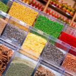 Caixa de acrílico para alimentos