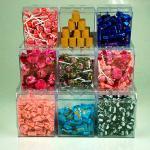 Display de acrílico para loja de doces