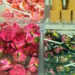 Display para doces em acrílico