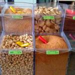 Expositores de alimentos para loja de doces