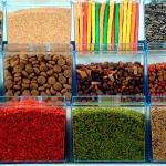Potes para produtos naturais
